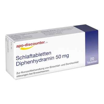 Schlaftabletten Diphenhydramin 50 mg/Apodiscounter  zamów na apo-discounter.pl