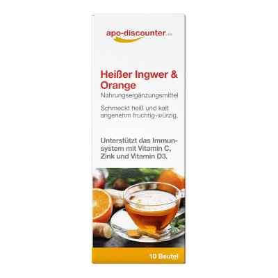 Heisser Ingwer Orange saszetki  zamów na apo-discounter.pl