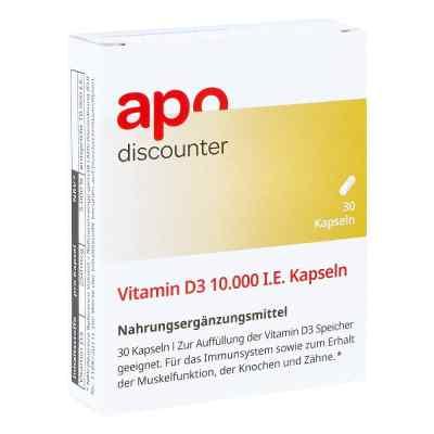 Vitamin D3 10.000 I.e. Kapseln  zamów na apo-discounter.pl